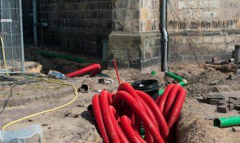 Câblage souterrain