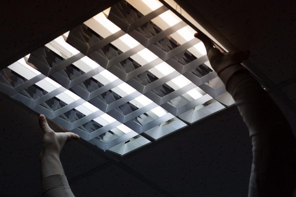 Installation des systèmes d'éclairage