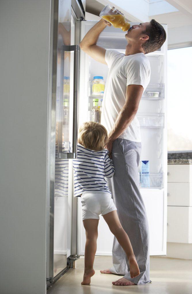 Монтаж встроенного холодильника в Женеве